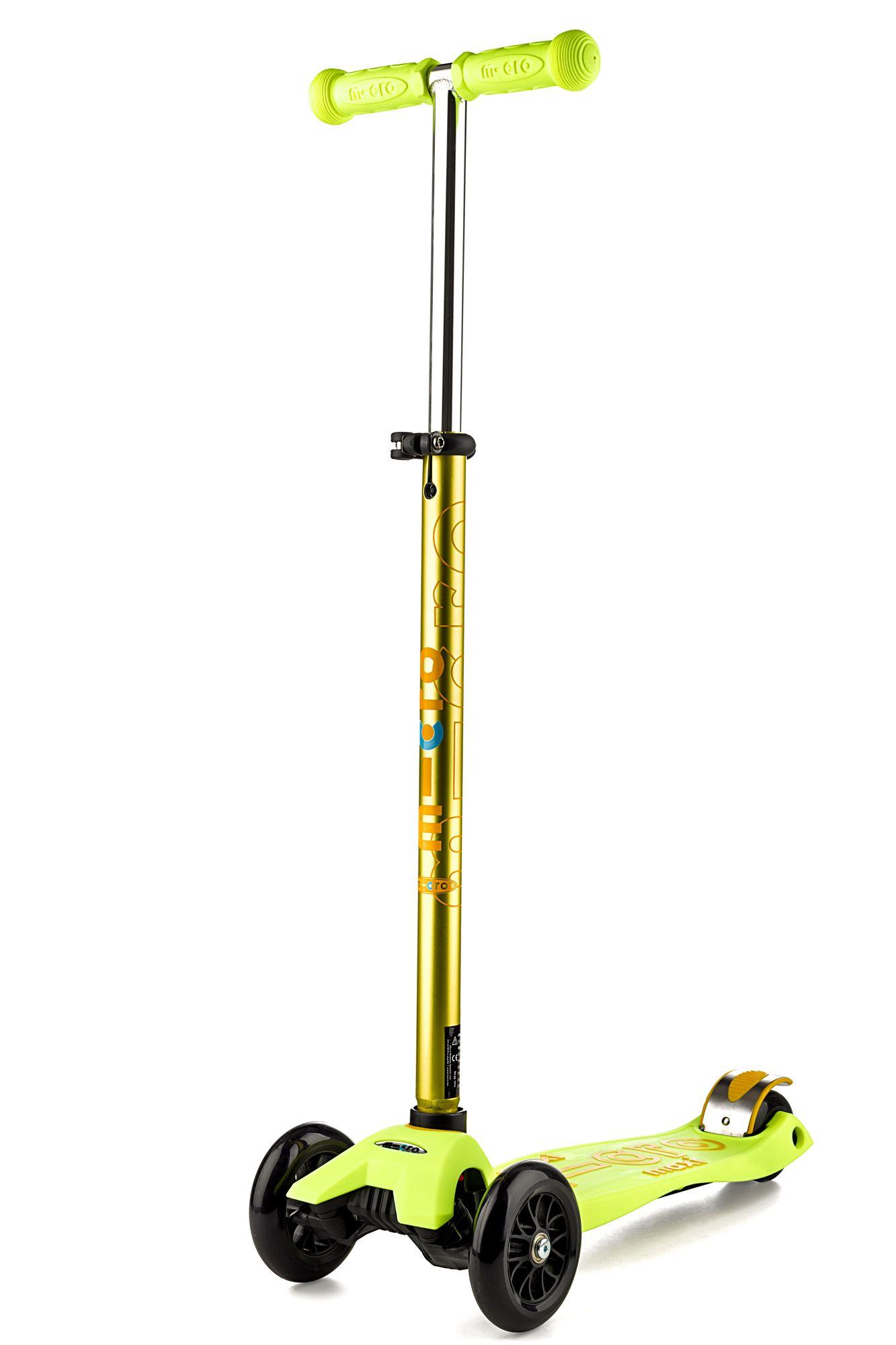 Koloběžka Maxi Micro Deluxe Yellow