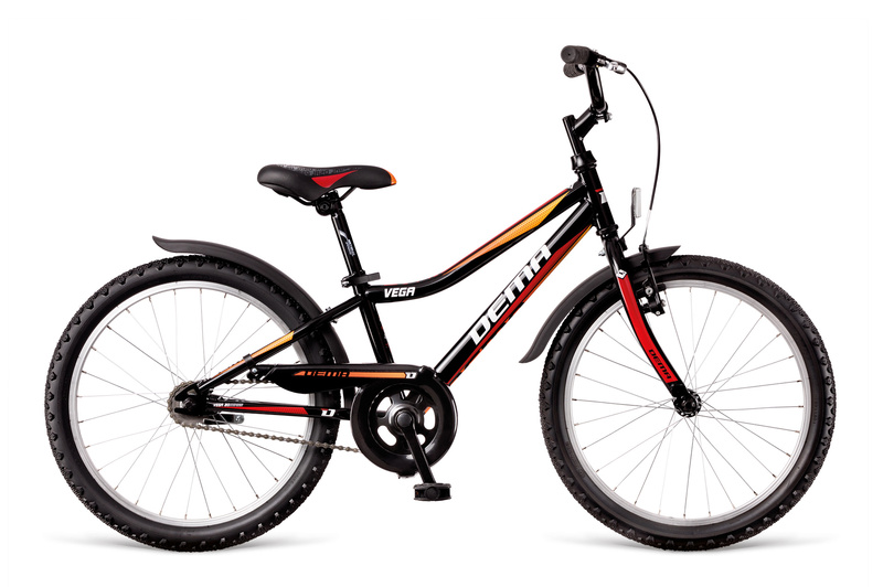 "DEMA VEGA 20"" 2018 black-red-orange"