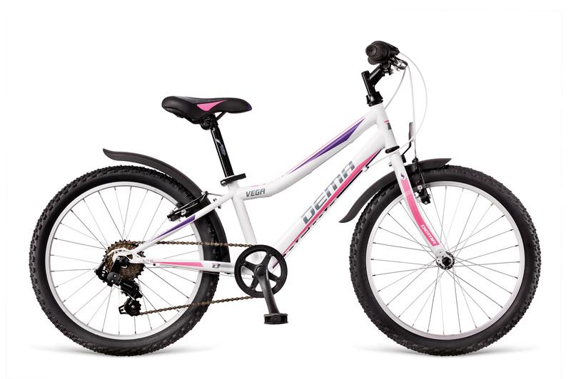 """DEMA VEGA 20"""" 6sp 2018 white-pink-violet"""