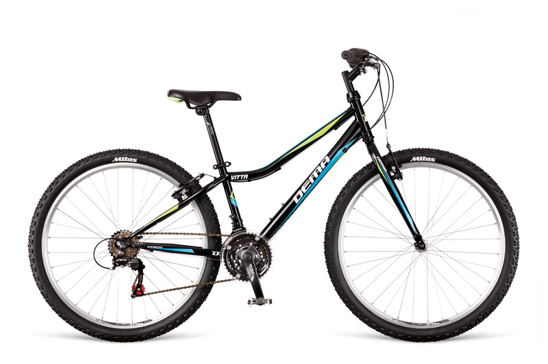 "DEMA VITTA 26"" 2018 black-blue-green"
