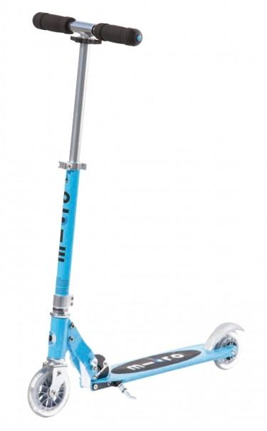 Koloběžka Micro Sprite Blue - ZDARMA dopravné a zdravá lahev 0,7 l (barva světle modrá dle vyobrazení)