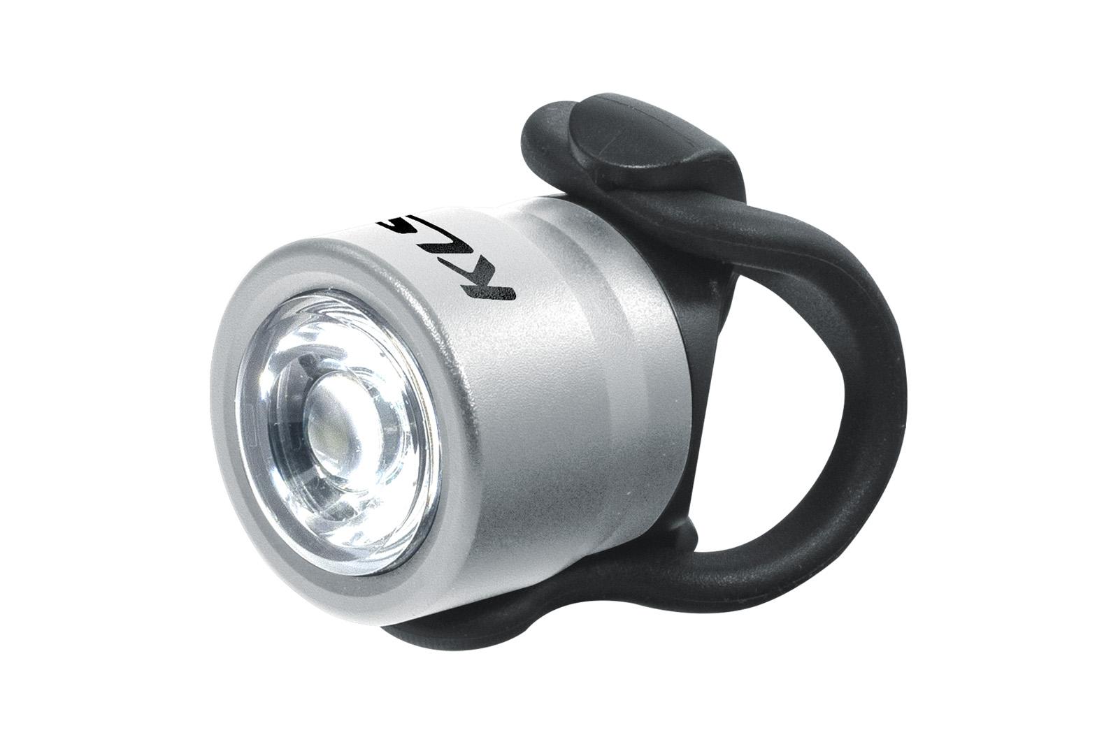 Světlo přední KLS IO F, silver
