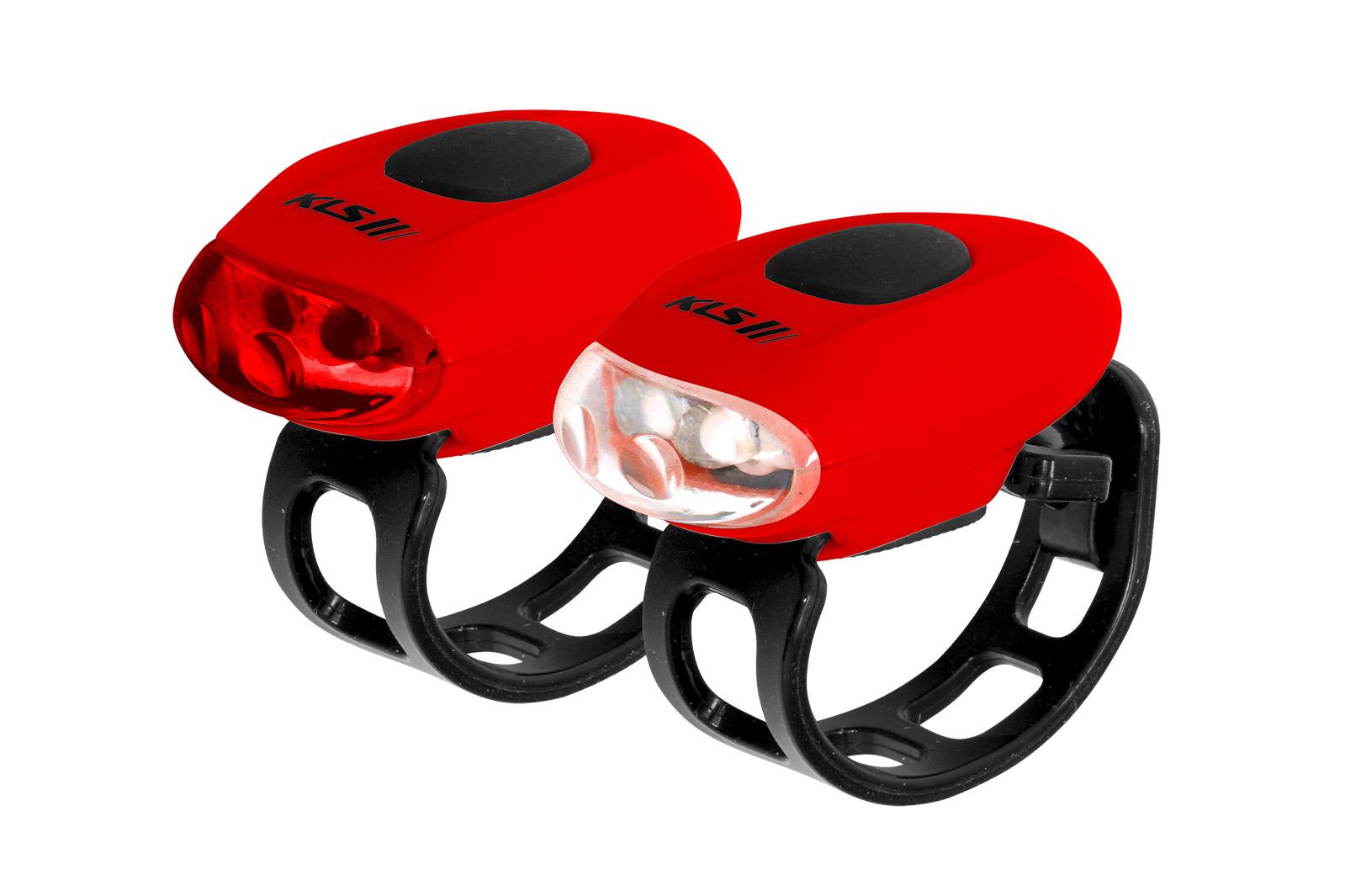 Osvětlení set KLS EGGY, red