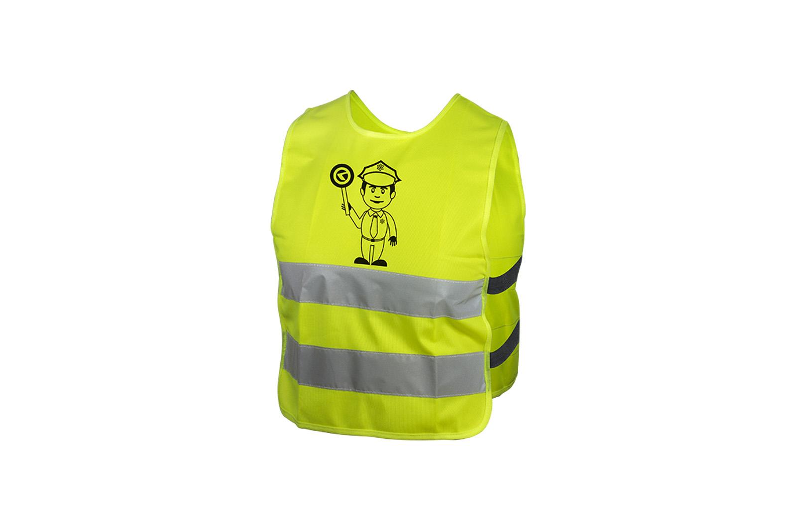 Dětská reflexní vesta KELLYS STARLIGHT police