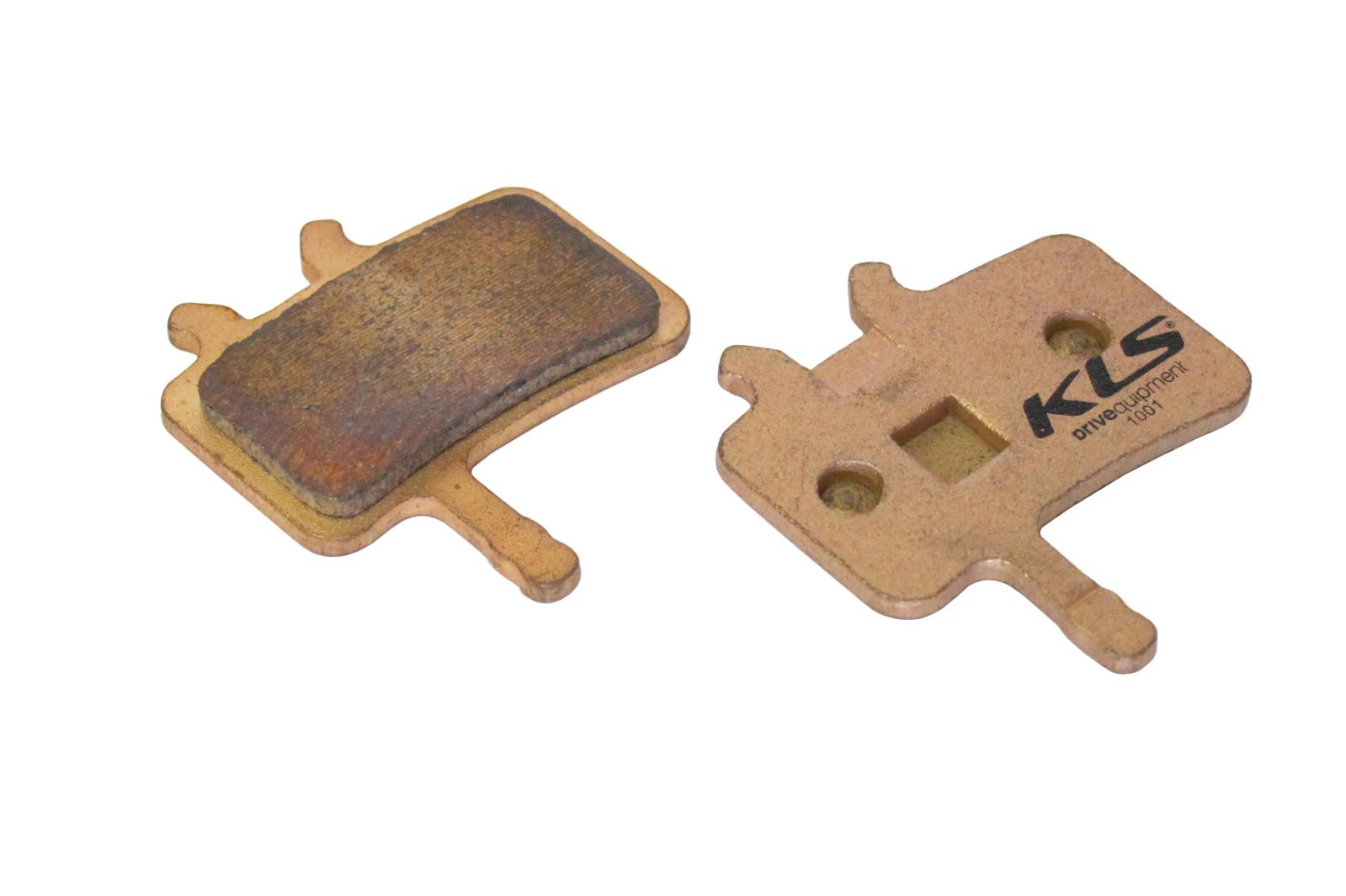 Brzdové destičky KLS D-02S, sintrované