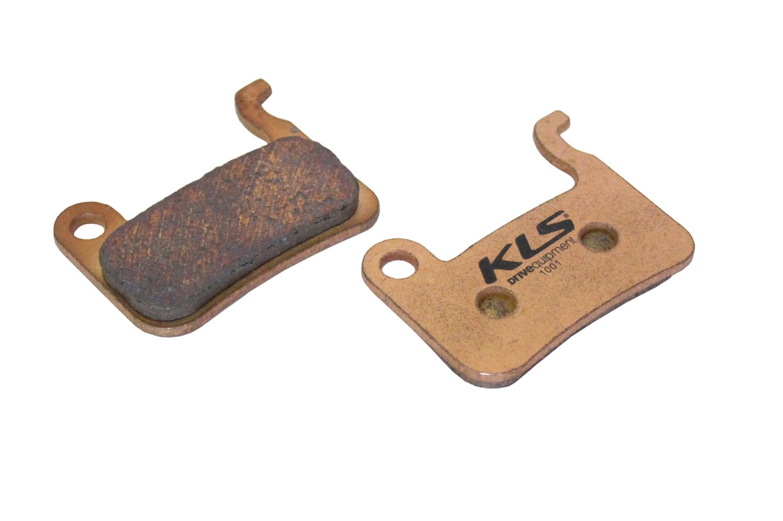 Brzdové destičky KLS D-03S, sintrované