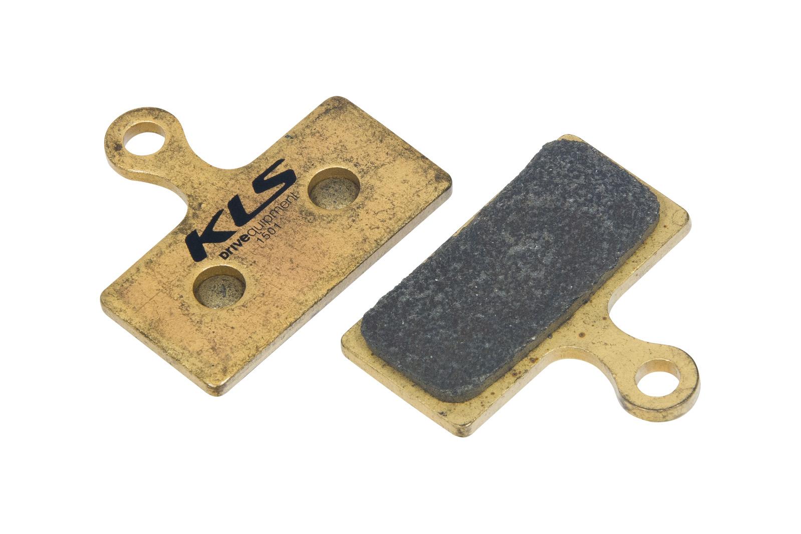 Brzdové destičky KLS D-14S, sintrované