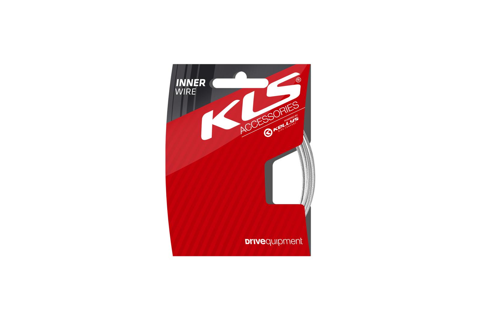 Lanko brzdové KLS MTB zadní 180 cm, nerez