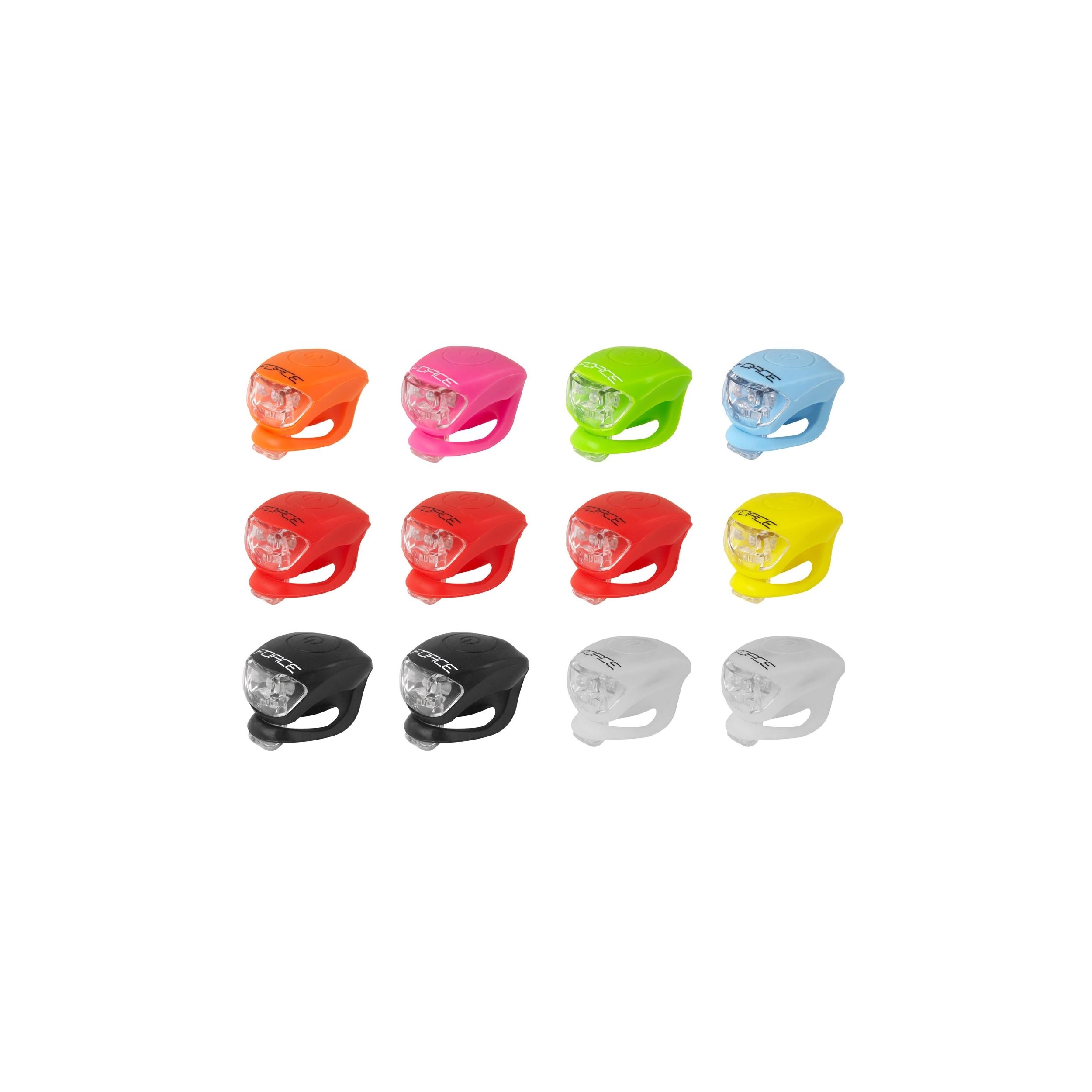 Blikačky FORCE DOUBLE zadní, mix barev