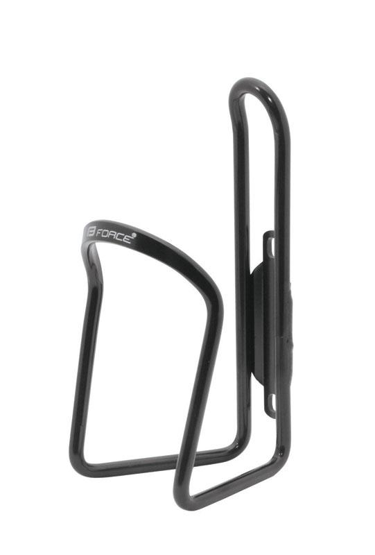 Košík / držák láhve FORCE KLAS hliníkový, černý