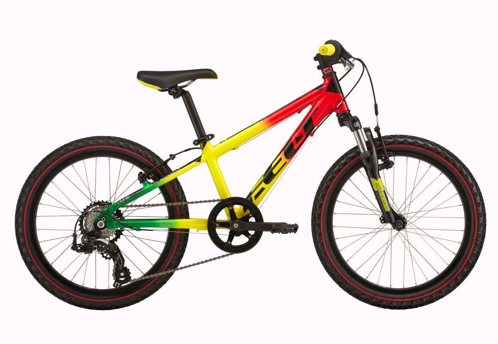 Felt Q20 S zelená/žlutá/červená
