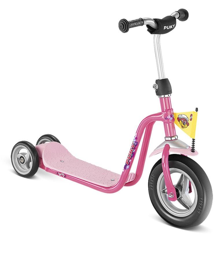 PUKY R 1 PINK scooter, koloběžka růžová - ZDARMA dopravné a reflexní vesta (barva růžová - dle vyobrazení)