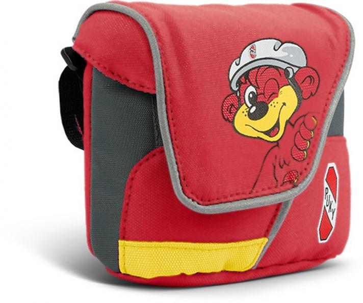 Taška na řídítka Puky LT 1 - barva červená (Pro koloběžky, tříkolky a odrážedla)