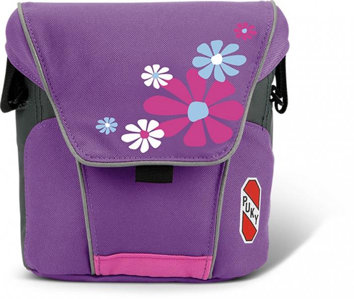 Taška/brašna na řidítka Puky LT 2 - barva růžovo-fialová