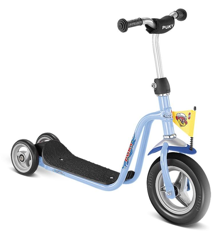 PUKY R 1 BLUE scooter, koloběžka modrá - ZDARMA dopravné a reflexní vesta (barva modrá - dle vyobrazení)