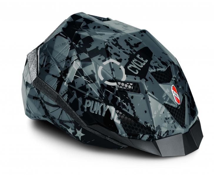 Juniorská cyklistická přilba - helma PUKY PH 6, vel. 52 až 58 cm (Velikost M, pro obvod hlavy 52 až 58 cm) - 2013