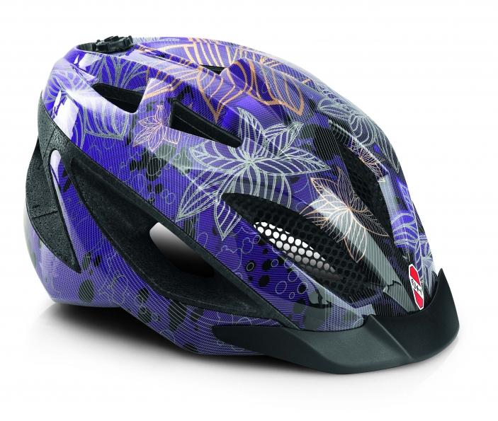 Juniorská cyklistická přilba - helma PUKY PH 7, vel. 52 až 58 cm (Velikost M, pro obvod hlavy 52 až 58 cm) - 2013
