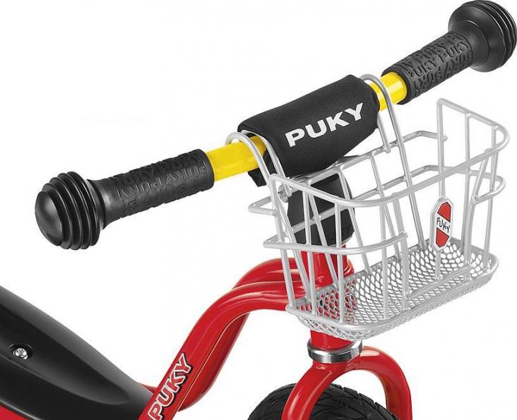 Košík na řidítka přední PUKY (Určen pro odrážedla-odstrkovadla značky PUKY)