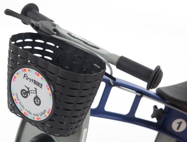 First Bike košík na řídítka černý - ZDARMA Vám ho dodáme při koupi odrážedla F-B