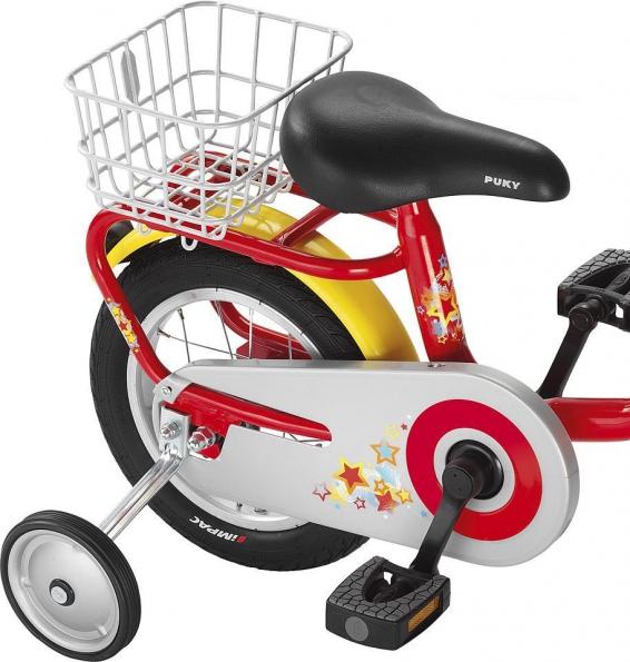 Košík na nosič zadní zn. PUKY pro model kola Z 2 (Určen pro dětská kola značky PUKY Z2)