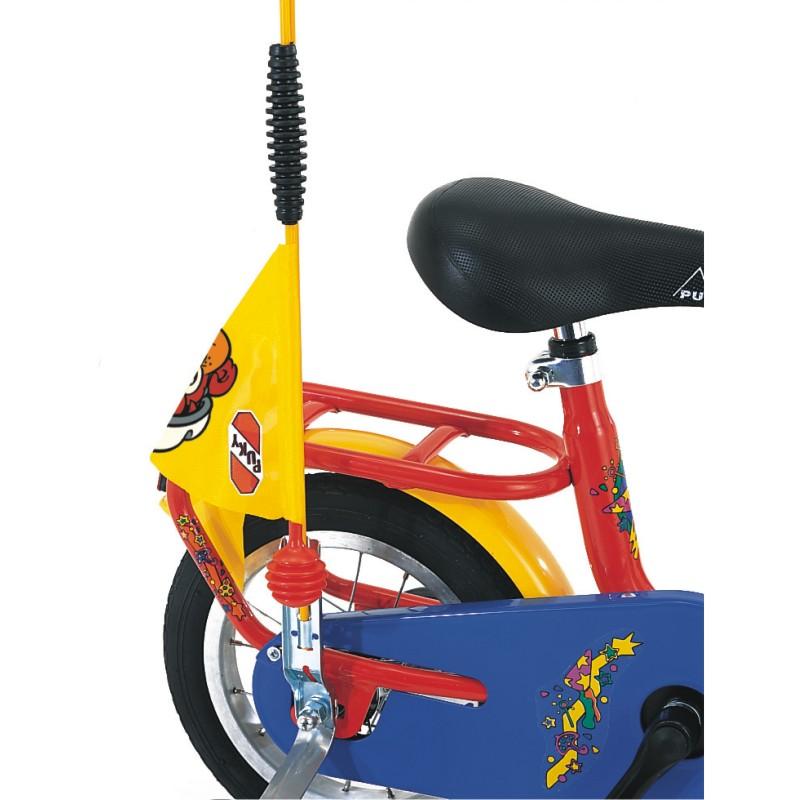 Puky bezpečnostní vlaječka - praporek, barva žlutá (Pro jízdní kola a koloběžky zn. Puky.)