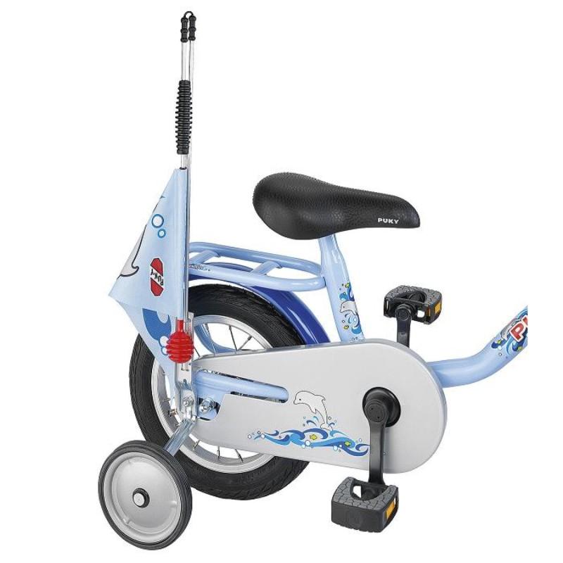 Puky bezpečnostní vlaječka - praporek, barva modrá (Pro jízdní kola a koloběžky zn. Puky.)