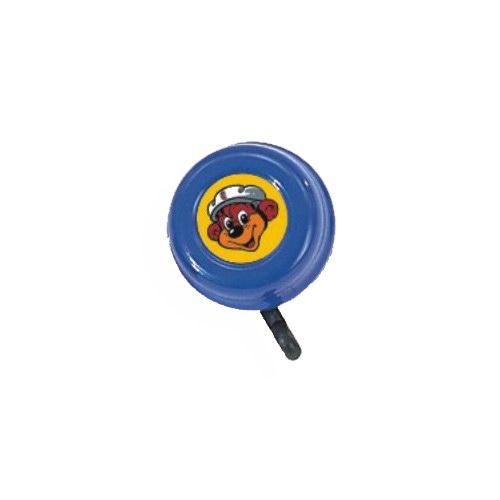 Zvoneček PUKY pro tříkolky, PUKY WUTSCH a PUKYLINO modrý (Určeno pro tříkolky PUKY a odrážedla PUKY WUTSCH a PUKYLINO)