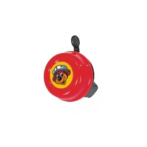 Zvoneček PUKY pro odrážedla, koloběžky a jízdní kola PUKY červený (Určeno pro odrážedla, koloběžky a jízdní kola PUKY)