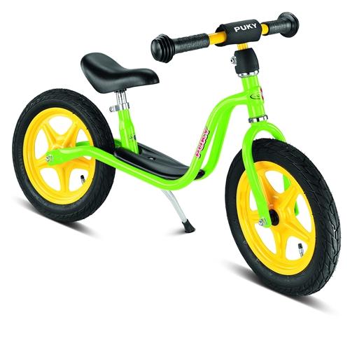 PUKY LR 1L, LR1L kiwi, zelené odrážedlo - ZDARMA dopravné (Learner bike standard bez brzdy odrážedlo, odstrkovadlo)