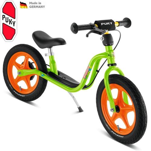 PUKY LR 1Br zelené odrážedlo - ZDARMA dopravné (Learner bike standard s brzdou odrážedlo, odstrkovadlo)