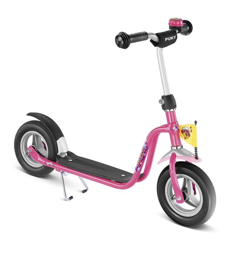 PUKY R 03 PINK, koloběžka růžová - ZDARMA dopravné a reflexní vesta (barva růžová - dle vyobrazení, scooter)