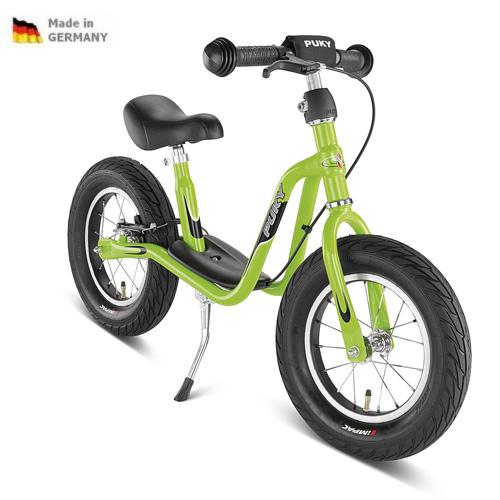 PUKY LR XL zelené kiwi odrážedlo - ZDARMA dopravné a zdravá lahev (Learner bike XL s brzdou odrážedlo, odstrkovadlo)