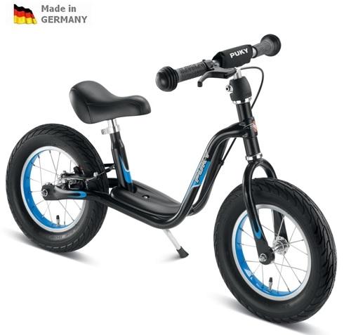 PUKY LR XL černo-modré odrážedlo - ZDARMA dopravné a zdravá lahev (Learner bike XL s brzdou odrážedlo, odstrkovadlo)
