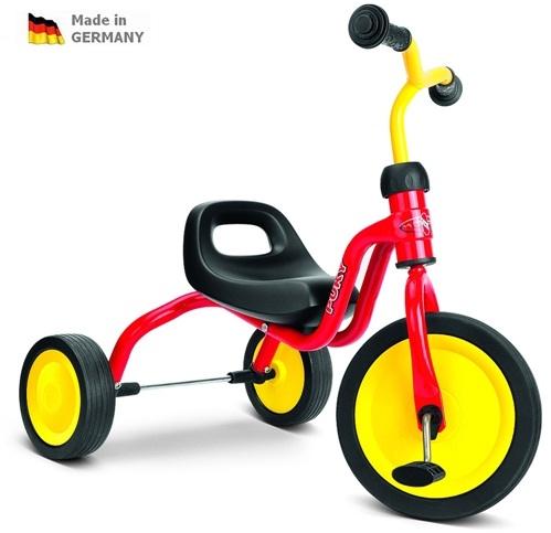 Tříkolka Puky FITSCH červená - ZDARMA dopravné a reflexní vesta (barva červená, Puky FITSCH Caddy Play)