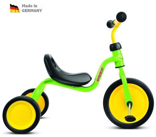 Tříkolka Puky FITSCH kiwi zelená- ZDARMA dopravné a reflexní vesta (barva kiwi zelená, Puky FITSCH Caddy Play)