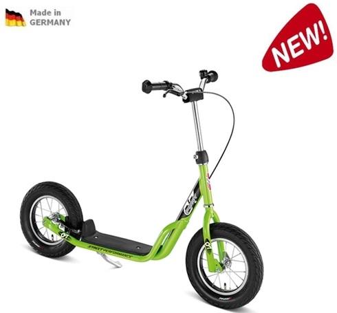 PUKY R 07 L KIWI, koloběžka zelená- ZDARMA dopravné a zdravá lahev (barva kiwi-zelená - dle vyobrazení, scooter)