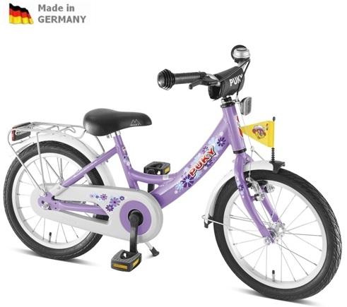 Dětské kolo Puky ZL 16 ALU fialové, 2013 - ZDARMA dopravné a AKCE