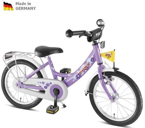 Dětské kolo Puky ZL18 ALU fialové, 2017- ZDARMA dopravné a AKCE