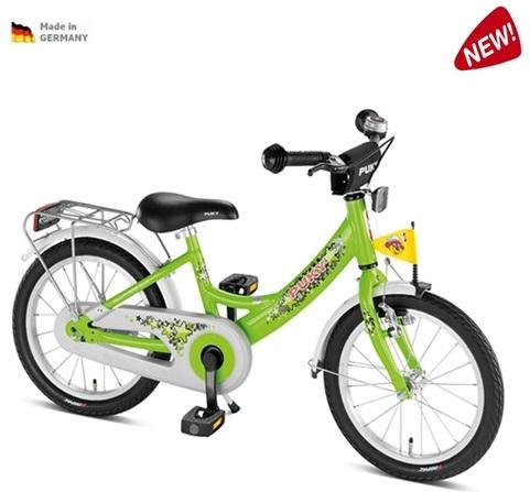 Dětské kolo Puky ZL 18 ALU zelené, 2013-ZDARMA dopravné a AKCE