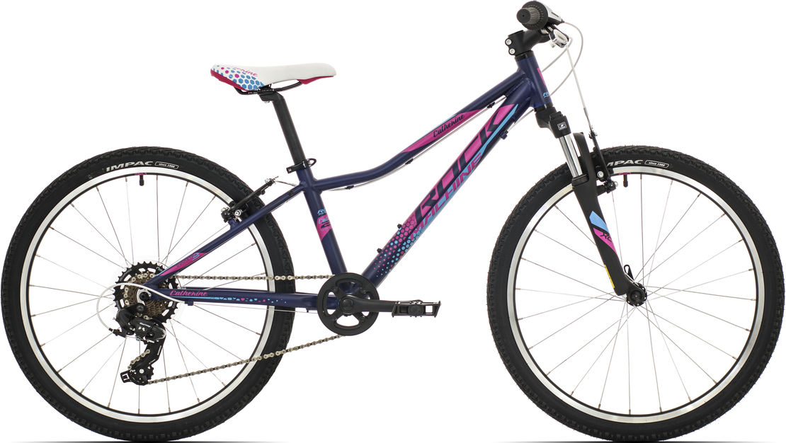 "Rock Machine Catherine 24"" 2019 mat deep blue/pink/blue"