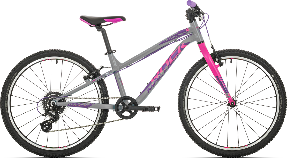 "Rock Machine Thunder 24"" 2019 gloss grey/pink/violet"