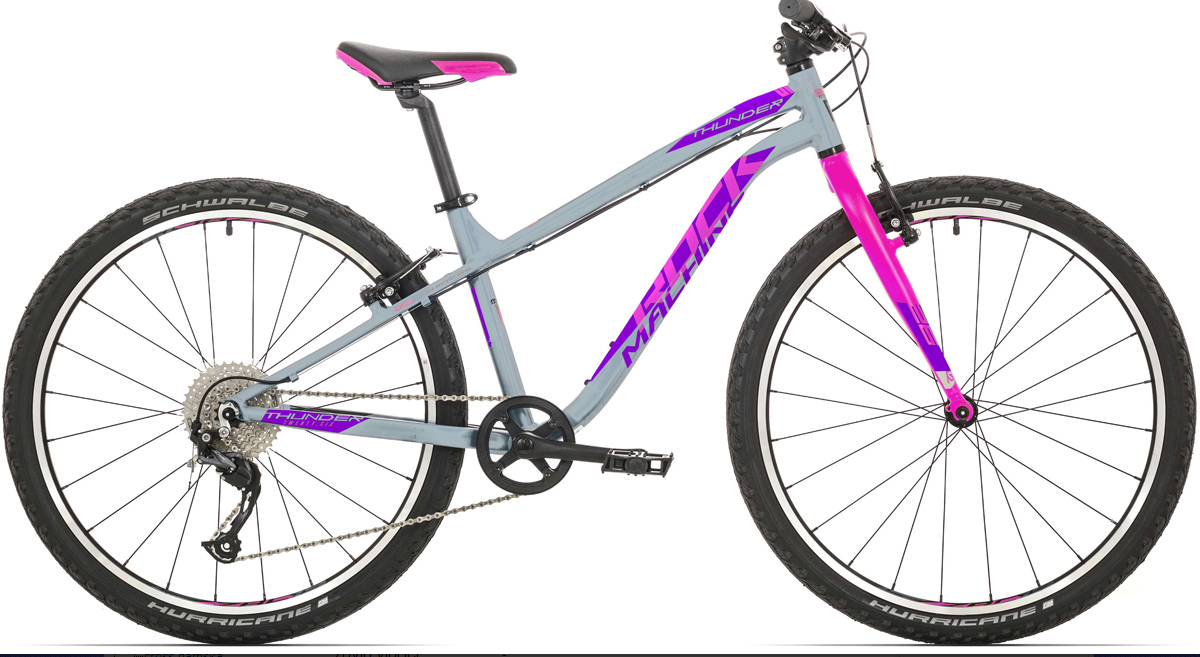 Rock Machine Thunder 26 LTD XS gloss grey/pink/violet