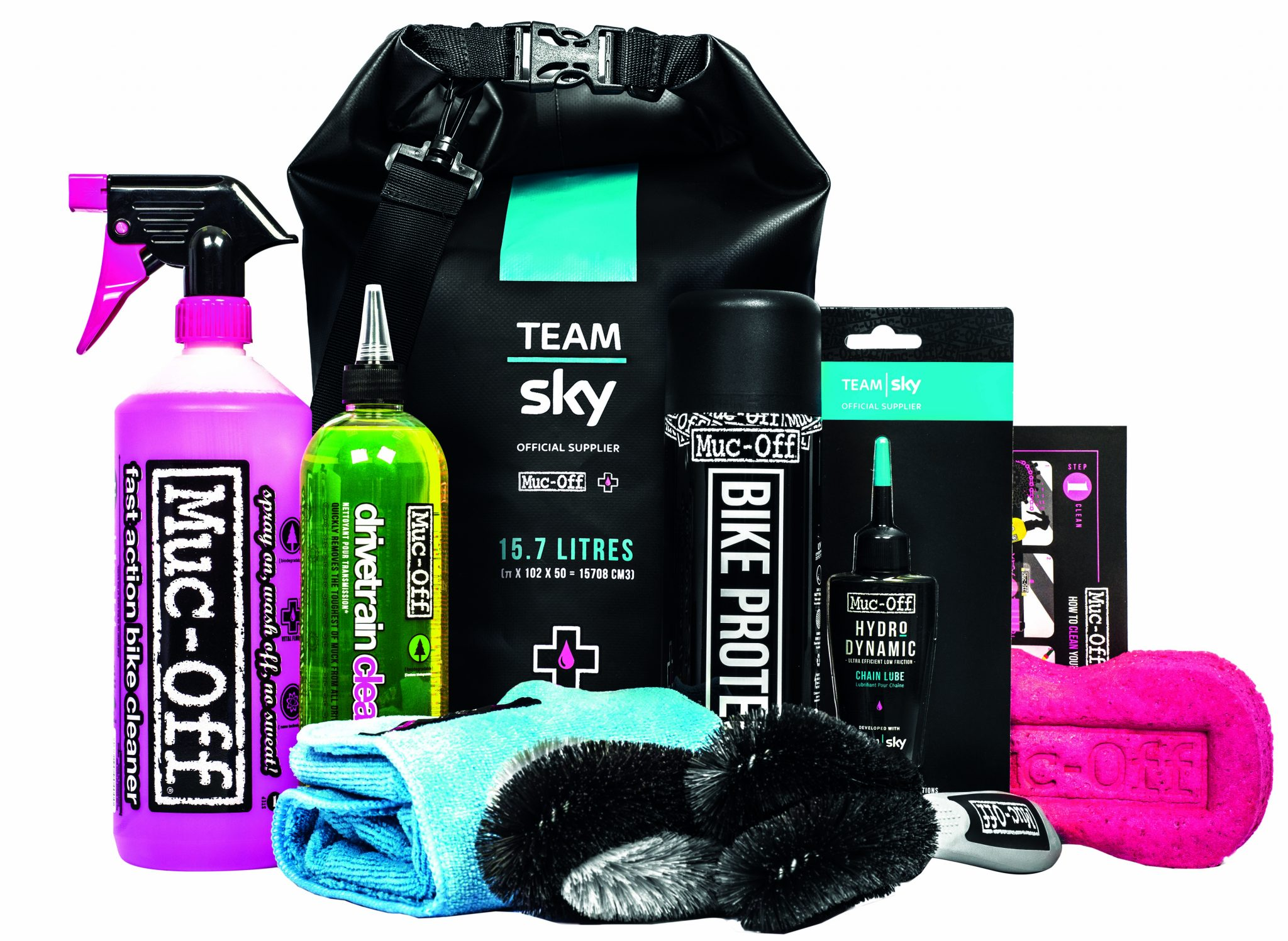 Team Sky Dry Bag Kit