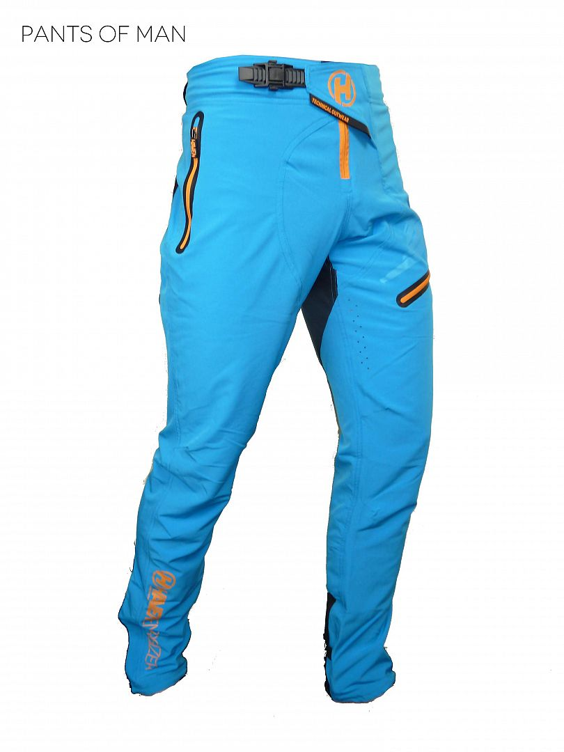 Kalhoty HAVEN ENERGIZER Long blue/orange - men/women, vel. XS