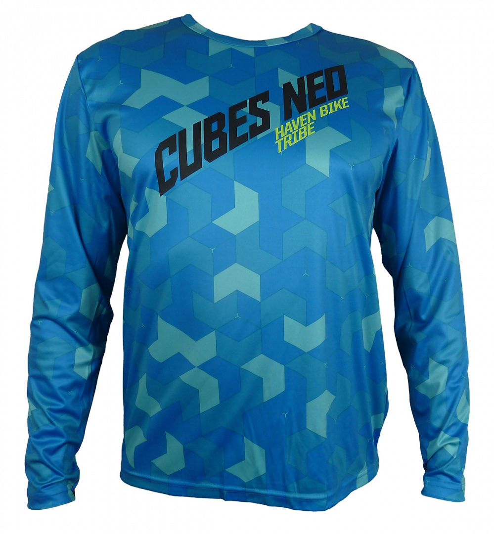 Volný dres HAVEN CUBES NEO Long blue/green, vel. S