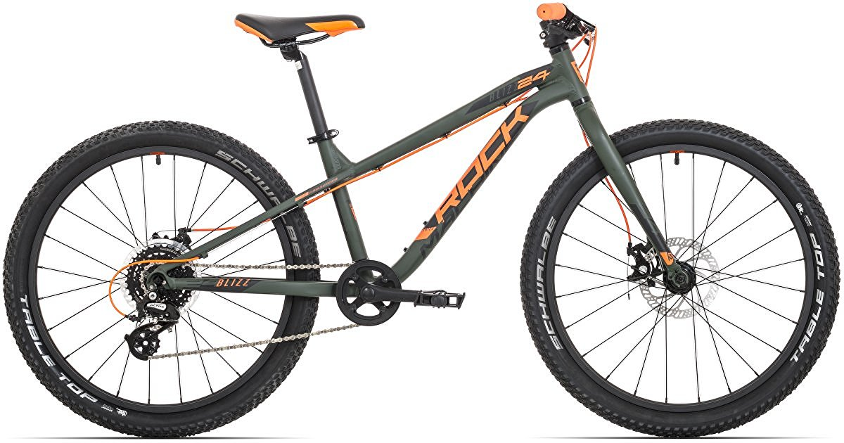 "Rock Machine Blizz 24"" 2020 MD mat khaki/neon orange/black"