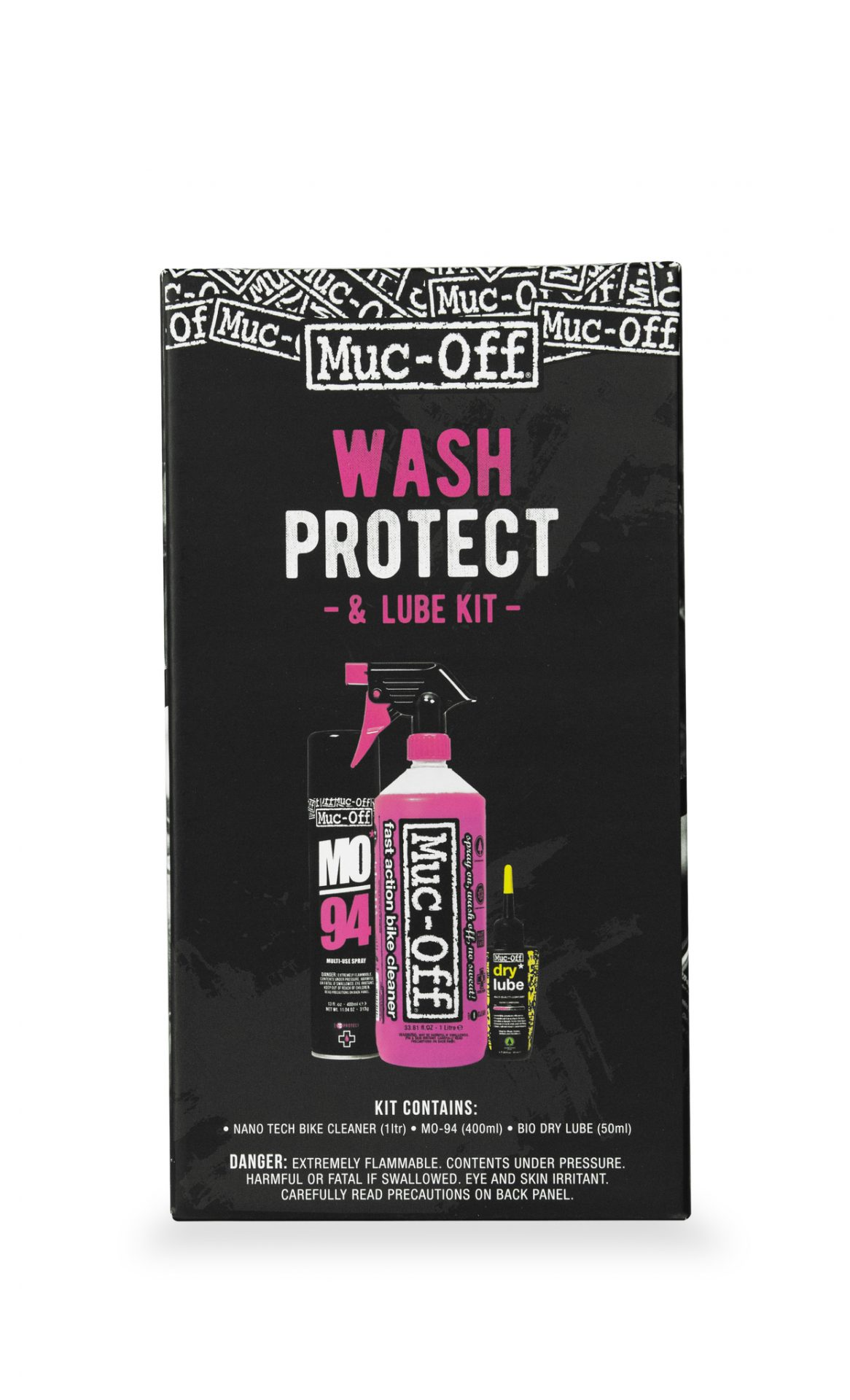 Muc-Off Wash, Protect & DRY Lube KIT