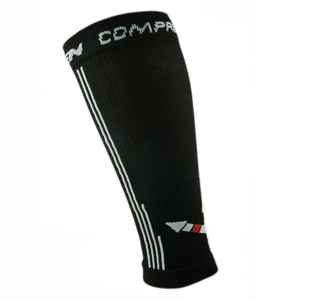 Kompresní návleky HAVEN Compressive Calf Guard EvoTec black/white- MIDDLE COMPRESSION, vel. S