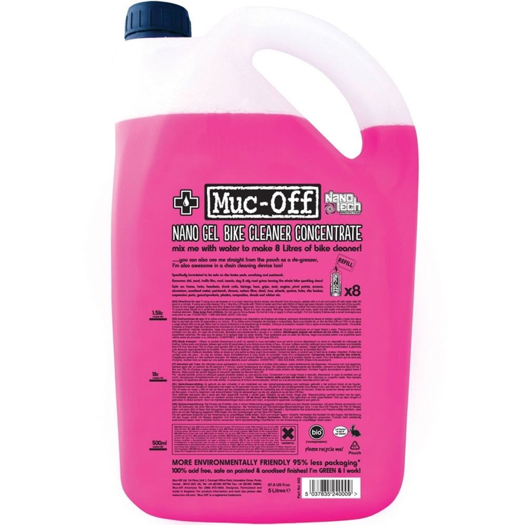 Muc-Off Nano Bike Cleaner Concentrate 5l