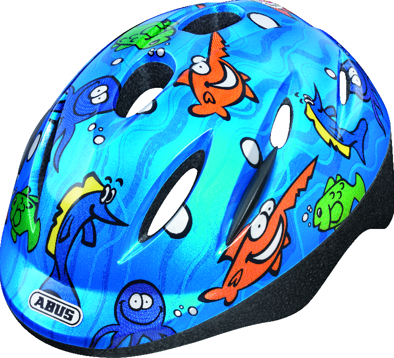 Dětská cyklistická přilba   helma ABUS ABUS Smooty Ocean ae66dd86227